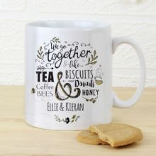 Personalised We Go Together Like... Mug P0805G75